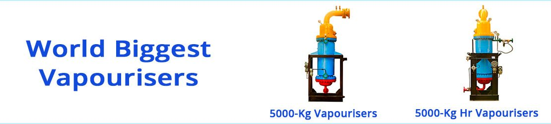 Manufacturers of world's biggest LPG vaporizer