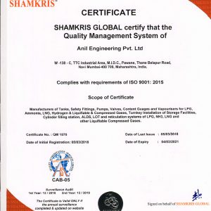 ISO 9001 : 2015,