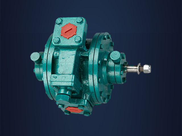 Rotary Vane Type Pump